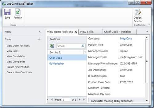 Visual Studio Lightswitch is designed to simplify application creation