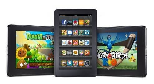Amazon Kindle fire tablet - Apps