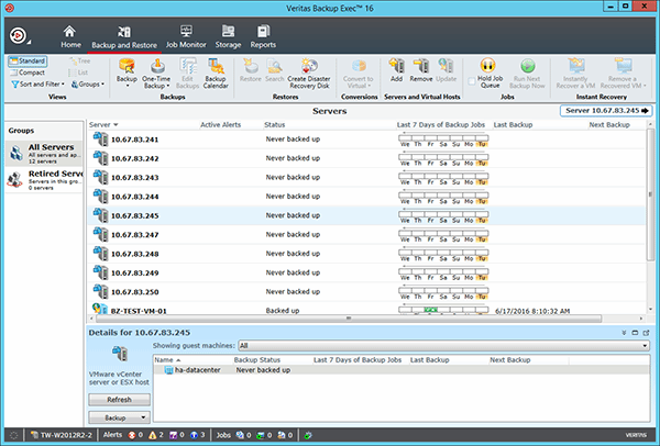 Torrent Symantec Backup Exec 14