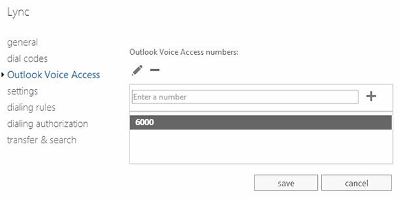 Outlook Access Numbers