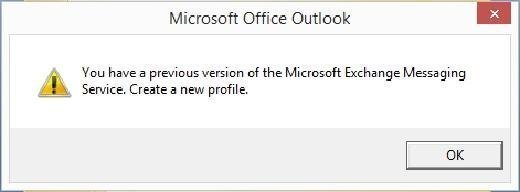 Figure 2: Outlook errors