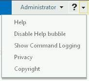Show Command Logging option