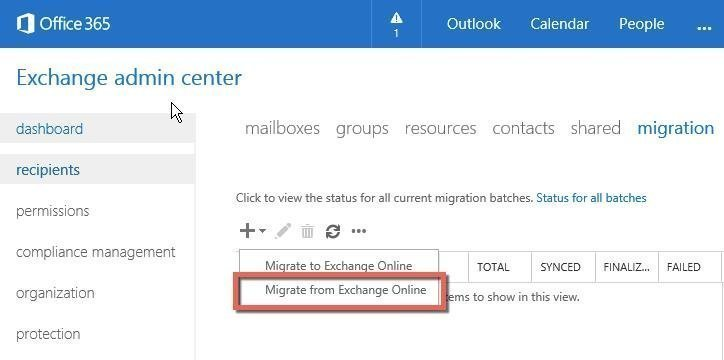 Migration de clients office 365 avec un serveur exchange hybride - Office de migration internationale ...