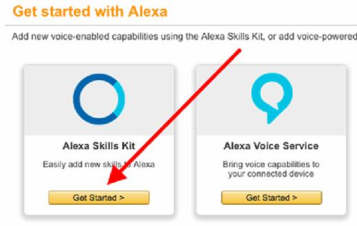 Amazon Echo Skills Console