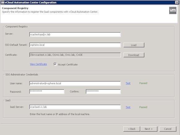 Figure 0 6: IaaS registration