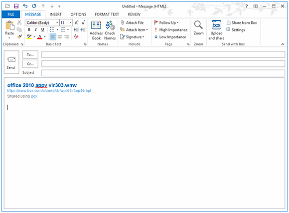 Box's Microsoft Outlook plug-in brings cloud file-sharing to email