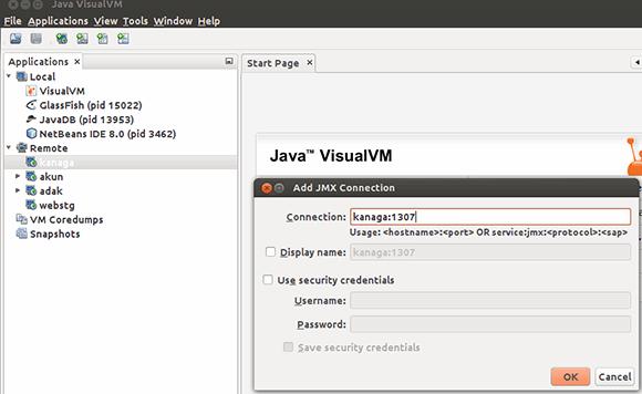 Java VisualVM Figure 1