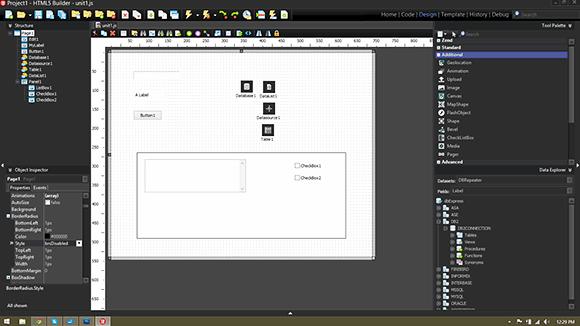 Embarcadero HTML5 Builder