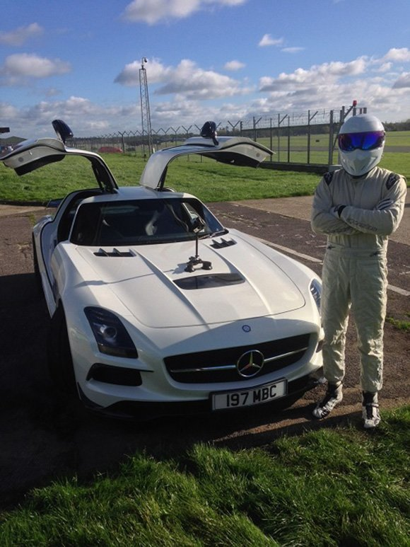 Visualise has developed high speed driving simulations with the Stig from Top Gear