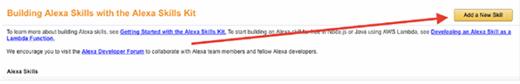 Customize Alexa by adding new skills.