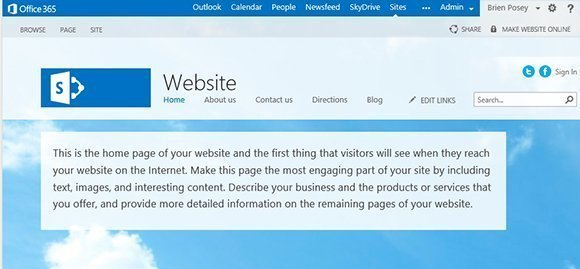 creating public-facing SharePoint site