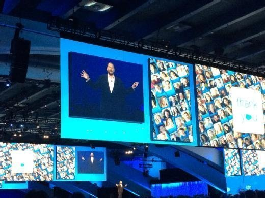 Marc Benioff at Dreamforce conference 2015