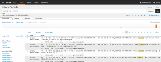 Splunk Web Interface
