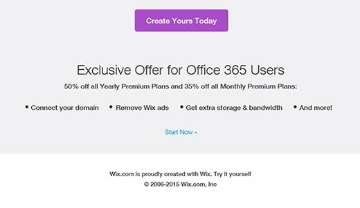 Wix.com rate