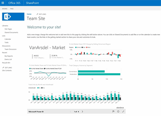 Adding Power BI dashboard to SharePoint by embedding code