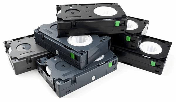 Destroy hard drive media tapes