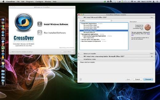 Installing Office on a Mac with CrossOver