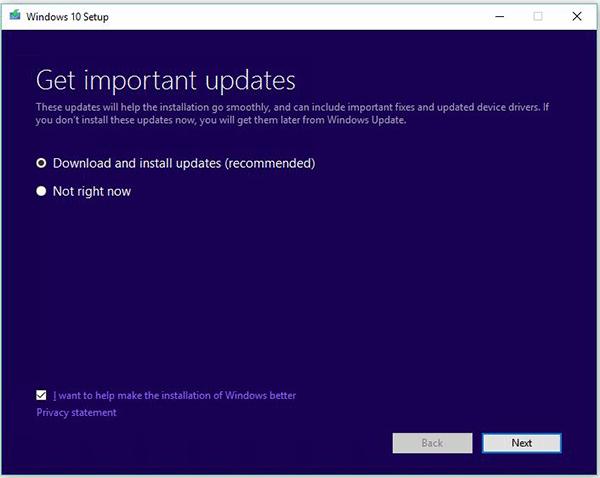 Get important updates