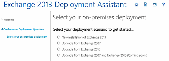On-premises deployment options