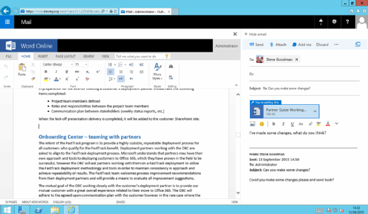 edit and reply in Outlook 2016