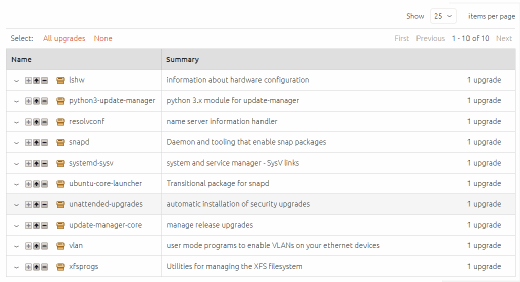 Canonical Landscape package management