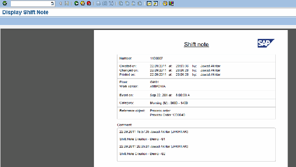 shift passdown log template