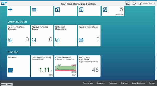 SAP Fiori Launchpad