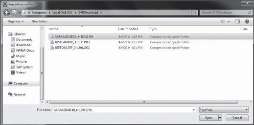 Selecting SAPUI5 Tools