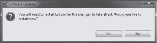 SAPUI5 Restarting Eclipse