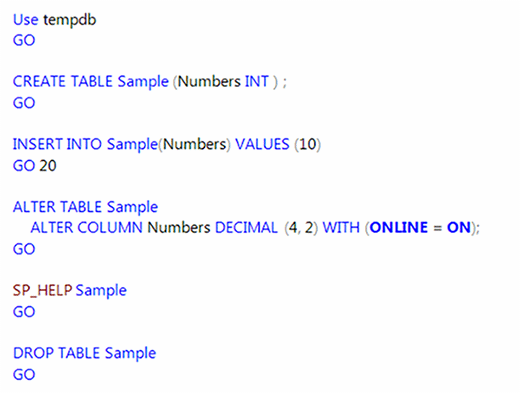 how to get table ddl in sql server