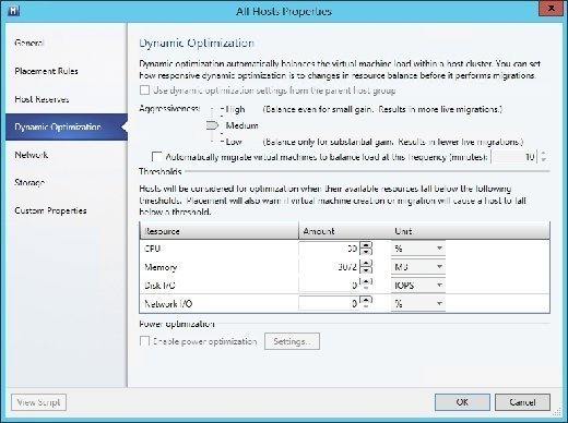 Dynamic optimization in Hyper-V can help you balance VM loads in your cluster.