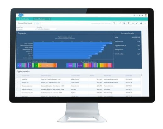 Account Dashboard for Salesforce Analytics