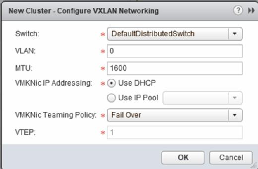 Configure VXLAN networking