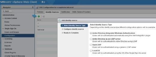 Configure Active Directory.