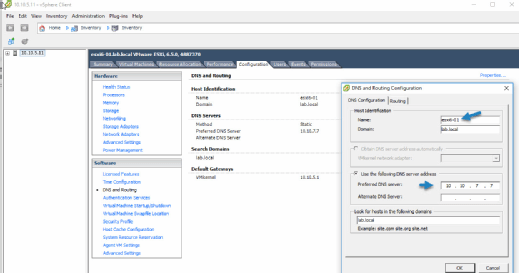 Windows-based vSphere Client.