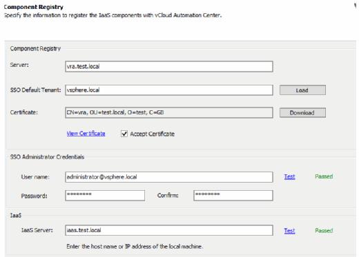 Component registry
