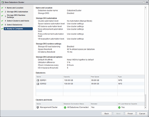 An overview of disks, clusters and setup
