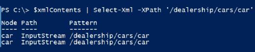 Using Select-Xml