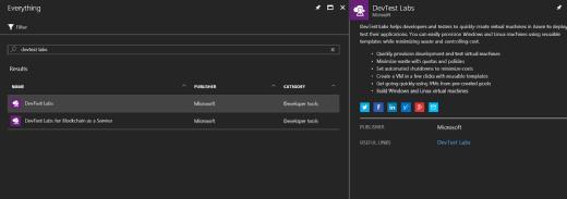 Install Azure DevTest Labs