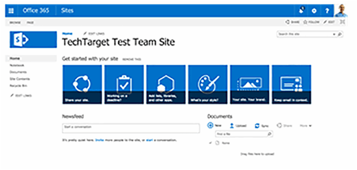 Test team site collection
