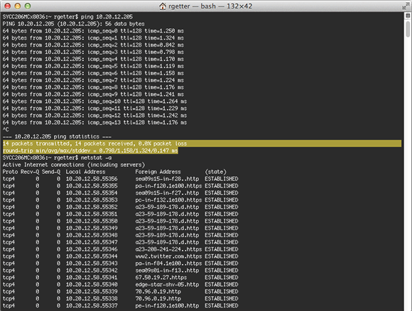 Cut, copy and paste work in the Terminal console.