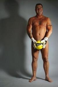 Mark Hughes with football.JPG