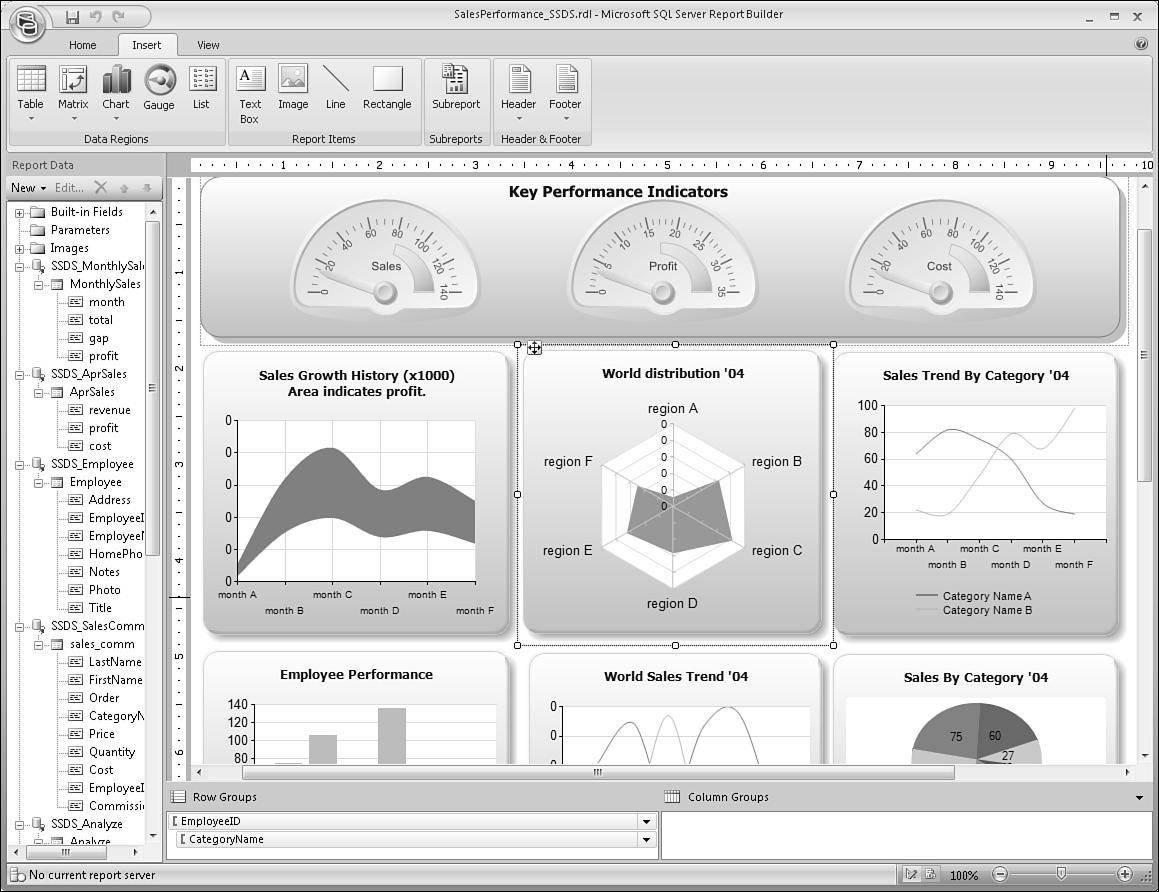 best report design examples