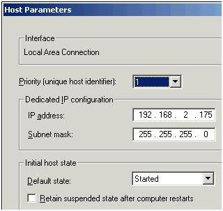Fig. 13: Host parameters