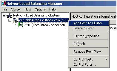 Fig. 15: Adding host to cluster
