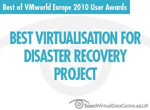 Best virtualisation for disaster recovery project