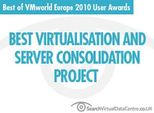 Best virtualisation and server consolidation project