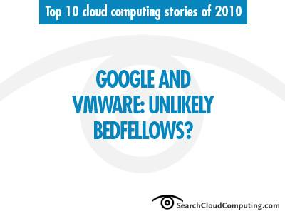 Google and VMware partner in the cloud