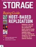 Host based replication cover