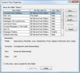 The Outlook 2007 Custom View Organizer
